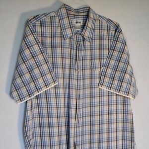 Stussy Short Sleeve Button Down Casual Shirt XL